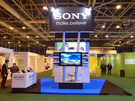 Stand de Sony en SIMO Network