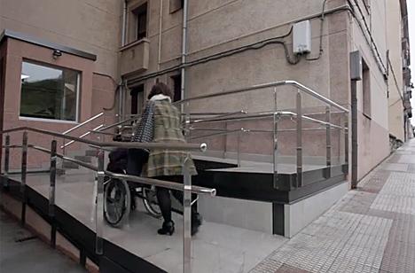 Eliminación de barreras, una de las medidas en el proyecto Housgai