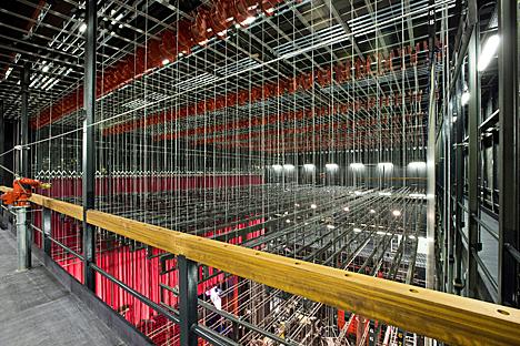Equipamiento escénico de ThyssenKrupp Elevadores en el Teatro Canal de Madrid