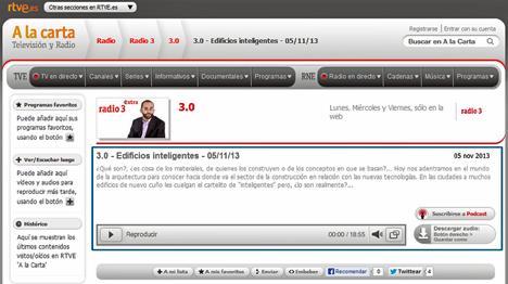 Programa 3.0 RTVE