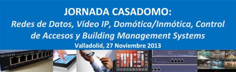 Cartel Jornada CASADOMO Valladolid
