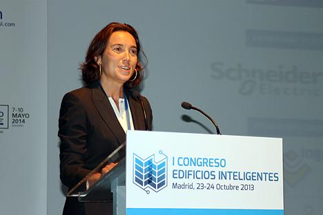Concepción Gamarra, alcaldesa de Logroño y Vicepresidenta Primera de la RECI