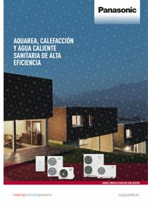 Nuevo catálogo AQUAREA de Panasonic