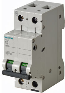 Interruptores Serie 5SL4 de Siemens