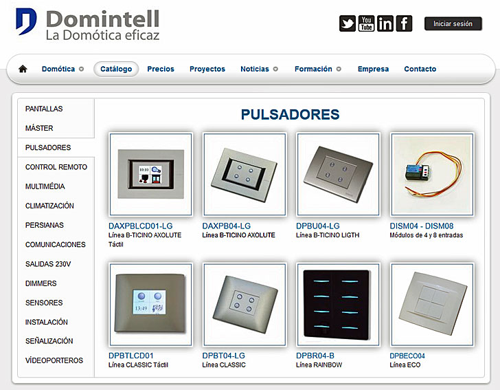 Productos domintell