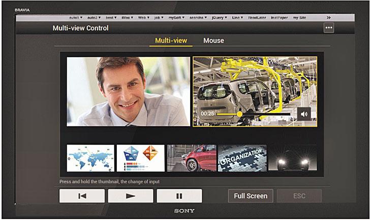 Multiview Sony