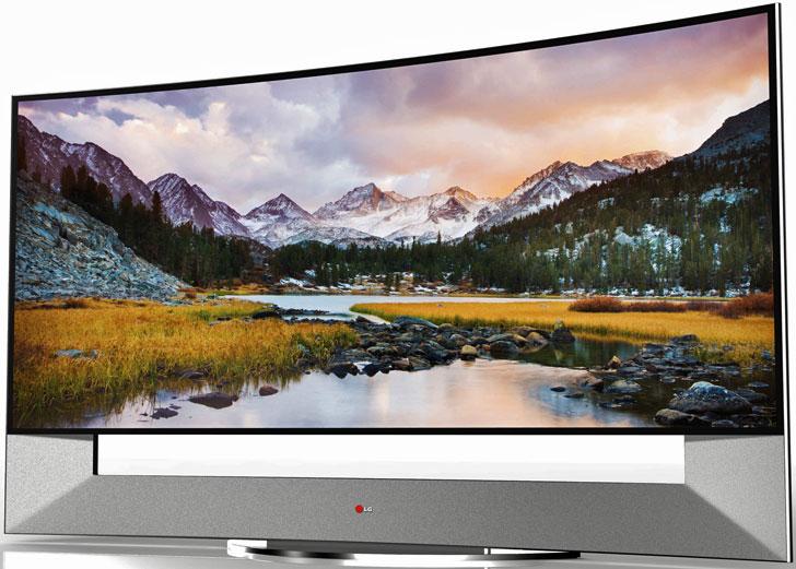 Televisor curvo Ultra HD