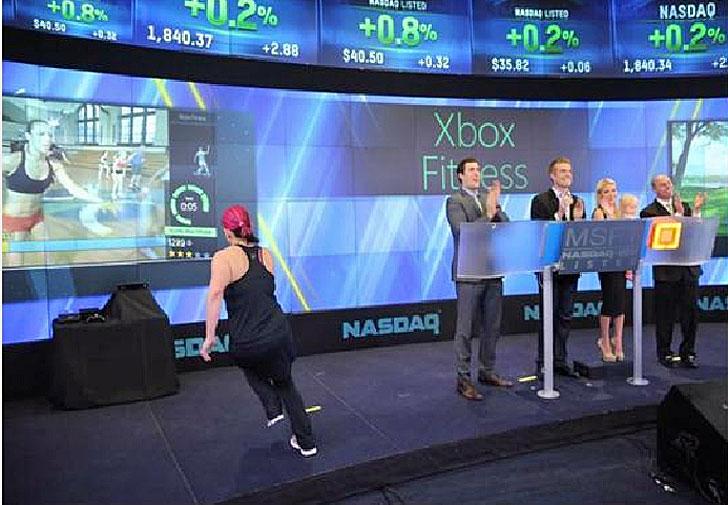 Xbox Fitness en NASDAQ