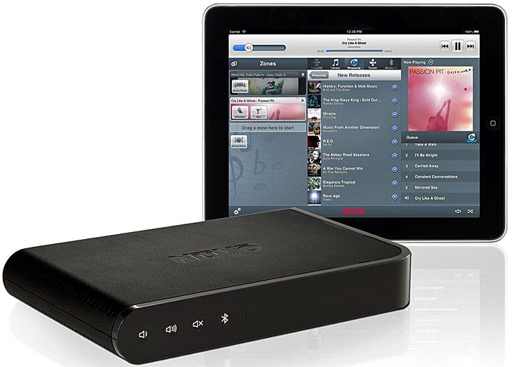 Sistema de audio NuVo