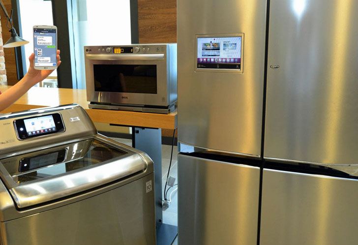 HomeChat y electrodomésticos inteligentes LG