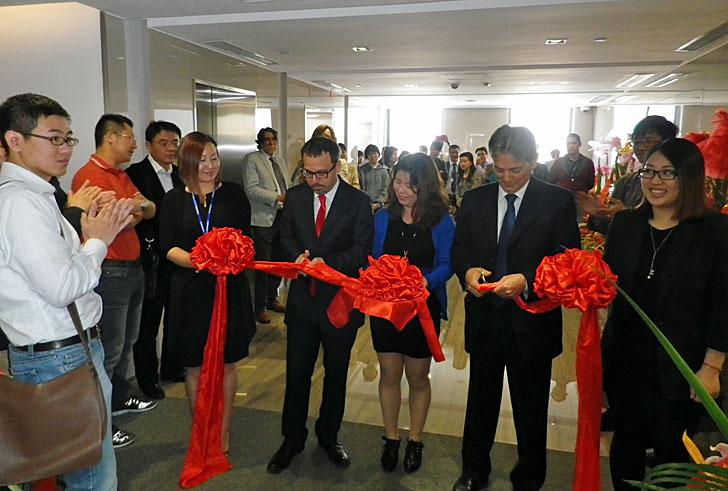 Inauguración sede Fermax en Shanghái