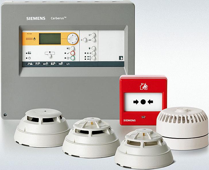 Protección contra incendios de Siemens
