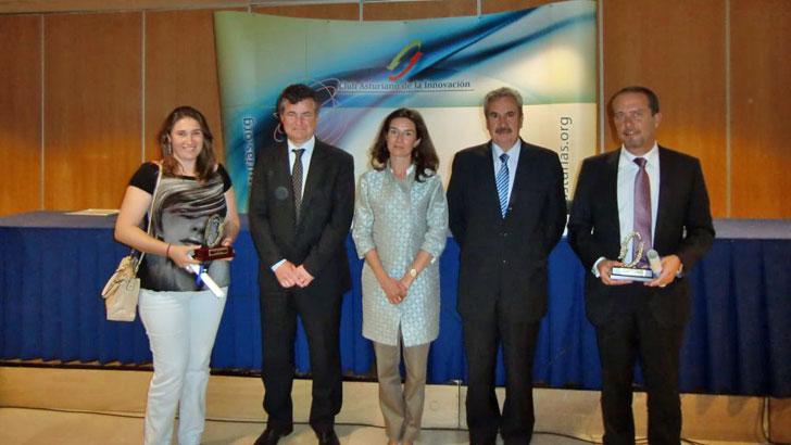 Entrega premio Socio Innovador a Ingenium