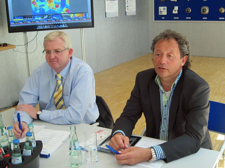 Klaus Gesmann y Ralf Hinkel