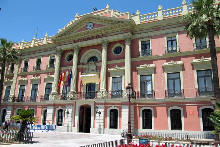 Casa Consistorial del Ayuntamiento de Murcia
