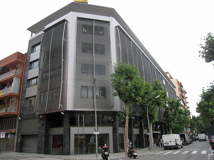 Edificio del proyecto, después