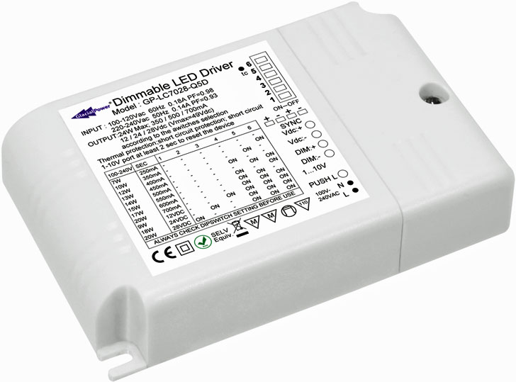 Driver LED de GlacialPower
