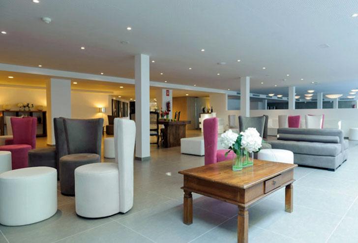 Sala común del Hotel Mar Mediterranea