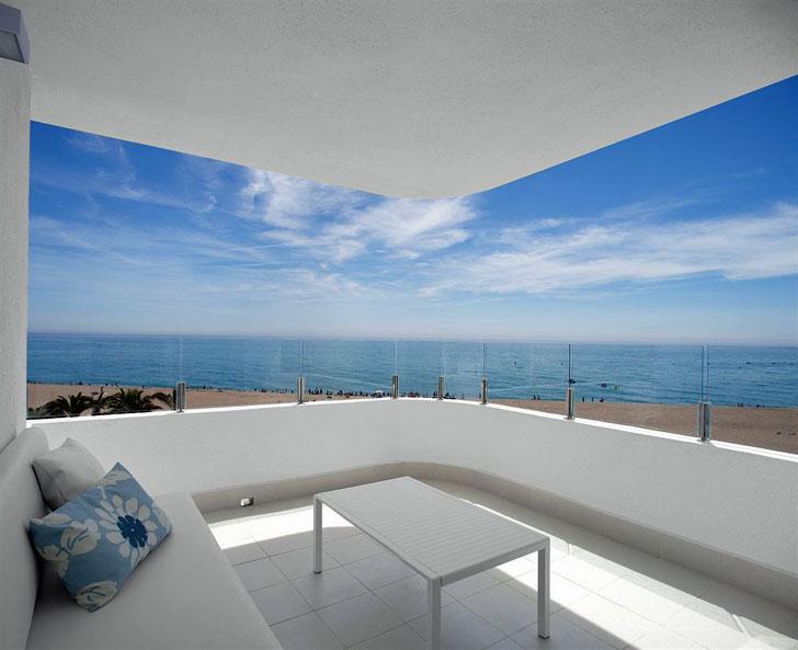 Terraza Hotel Mar Mediterranea