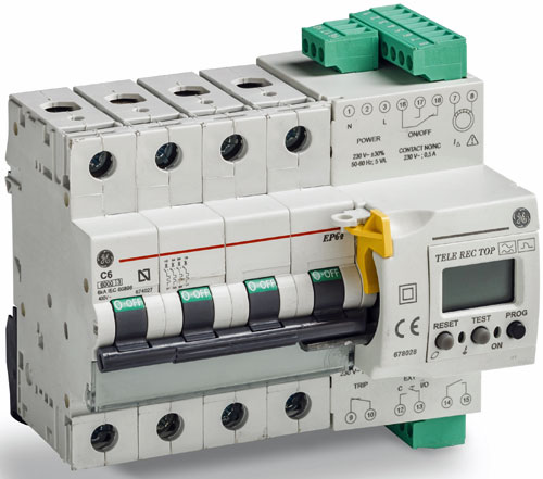 Sistema de autorreconexion de GE Industrial Solutions
