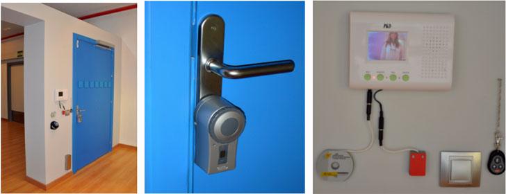Puerta de acceso y video-portero