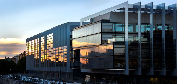 Panorámica del Campus Repsol
