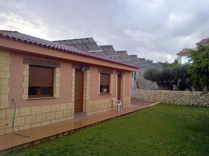 Vivienda domótica con energía solar