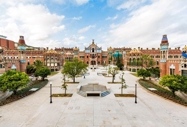 Conjunto arquitectónico modernista Sant Pau