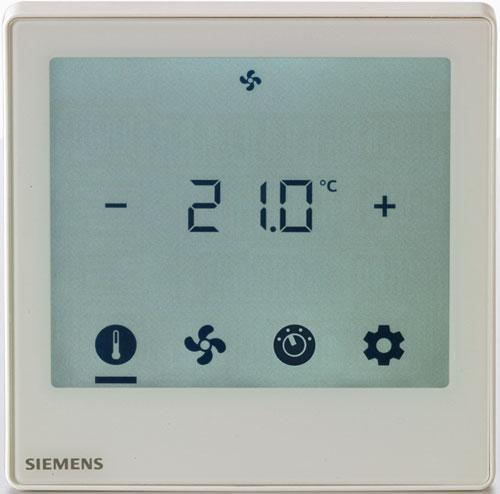 Pantalla táctil KNX de Siemens