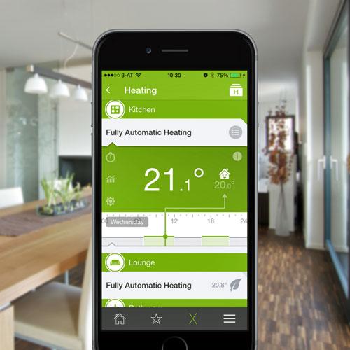 Smart Home App de Loxone