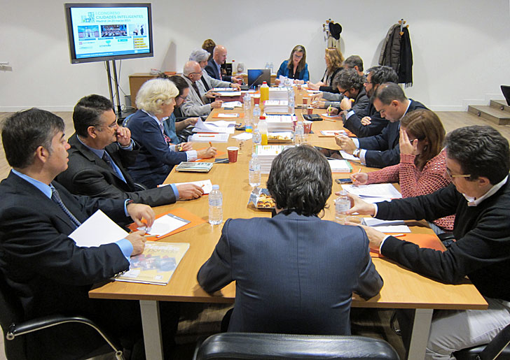 Comité Técnico del I Congreso Ciudades Inteligentes
