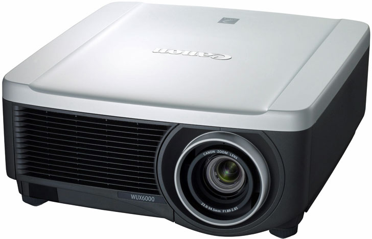 Proyector Canon WUX6000