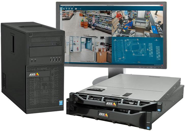 Grabadores S10 Camera Station de Axis