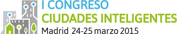 Logo del I Congreso Ciudades Inteligentes