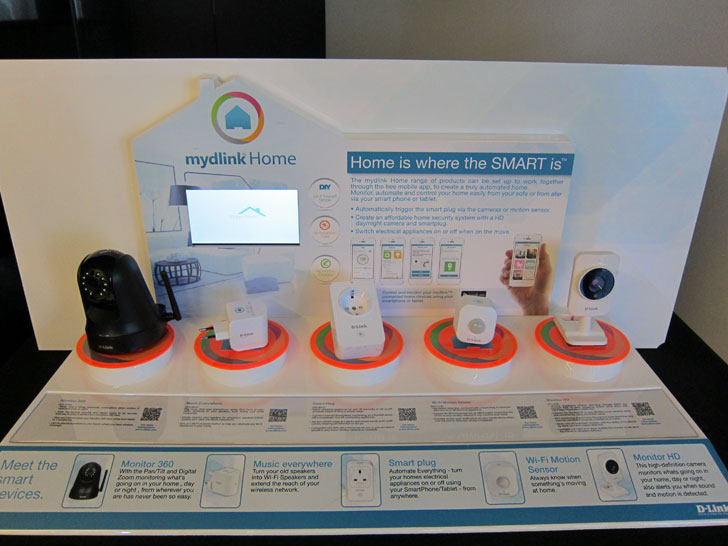 Productos mydlink Home