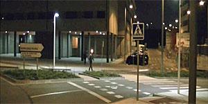 Iluminación Exterior Lumimotion en paso de peatones