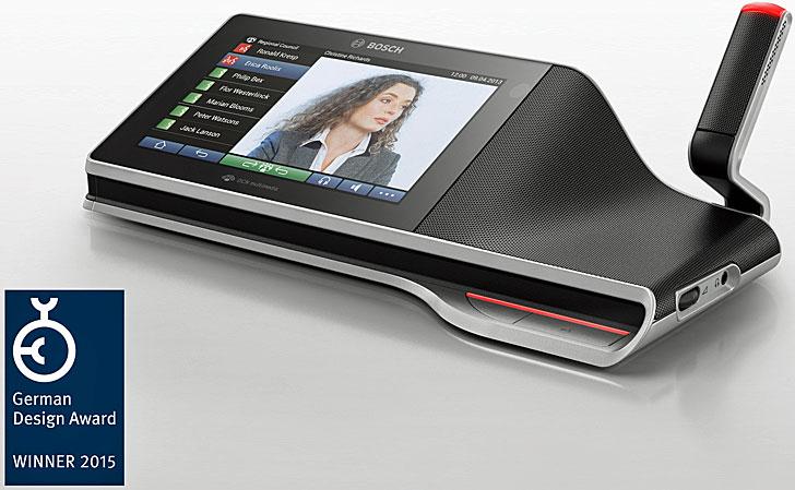 Sistema de conferencias DCN multimedia