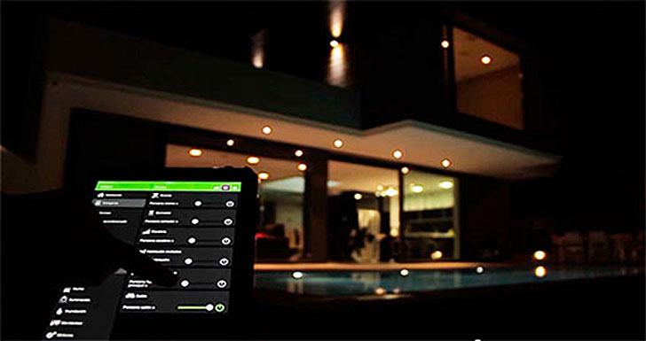Control de la instalación desde la Tablet