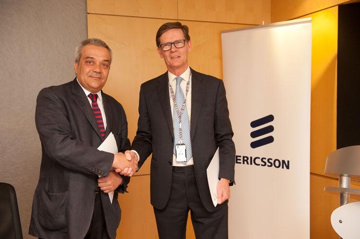 Acuerdo entre la SETSI y Ericsson