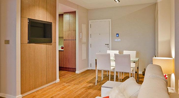 Apartamento domotizado por Domonova