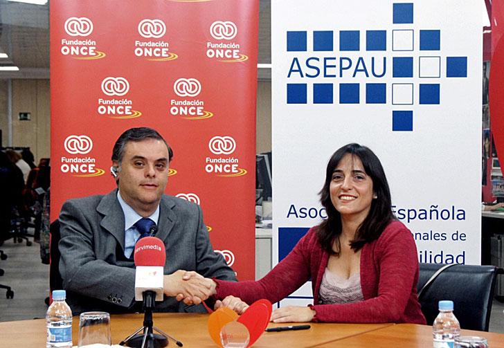 Fundación ONCE y Asepau