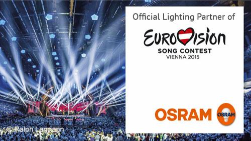 OSRAM en Eurovisión