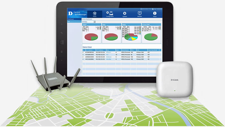 Central Wifi Manager