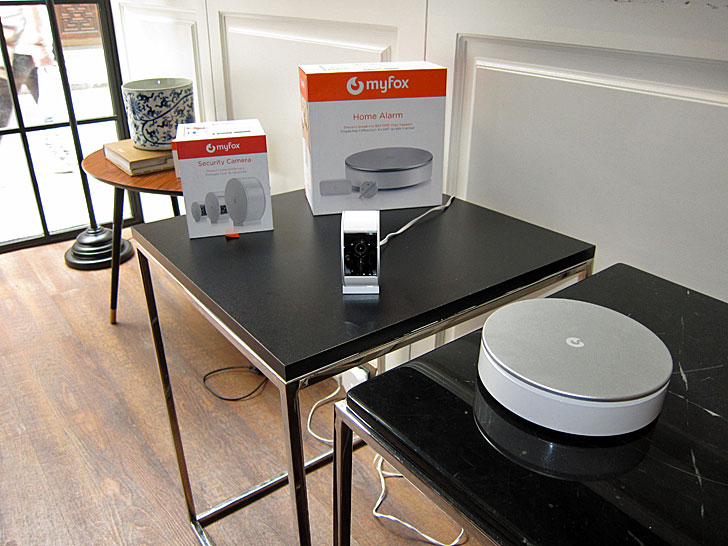 Myfox Home Alarm y Myfox Security Camera