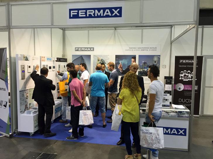 Stand de Fermax en Electro Forum
