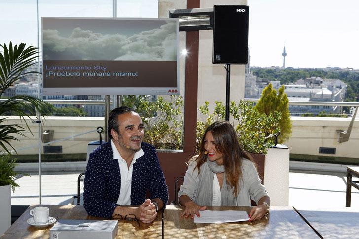 Lorenzo Castillo e Idoia Matas