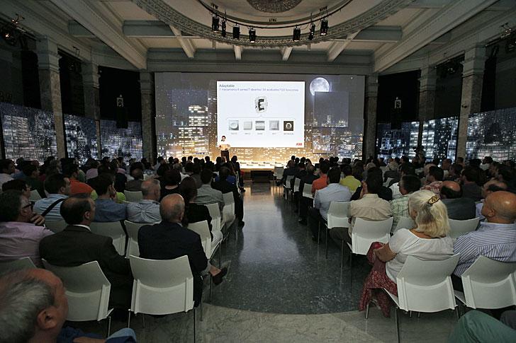 Público asistente a la presentación de Sky