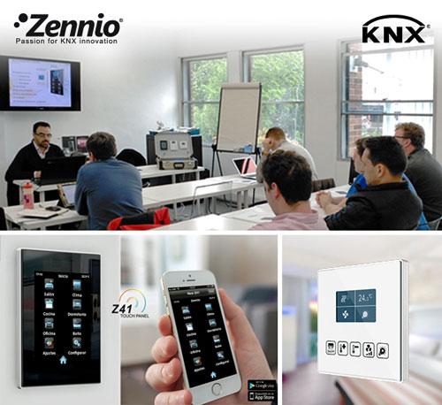 Formación KNX Zennio en Reino Unido