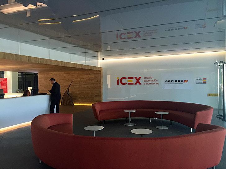 Entrada ICEX