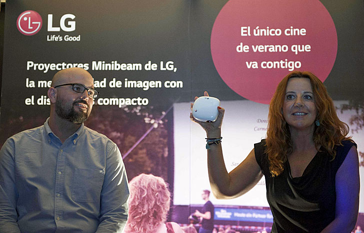 Proyectores LG Minibeam